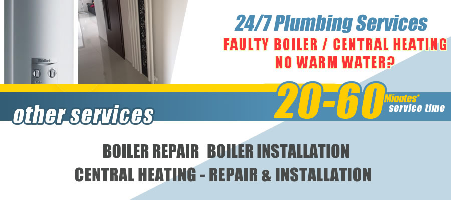 Lower Edmonton Boiler repairs